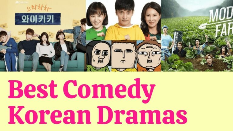 Top 12 Best Comedy Korean Dramas To Laugh Out Loud!