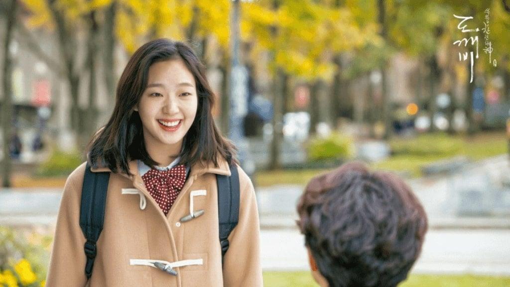 Goblin - Kim Go Eun as Ji Eun Tak