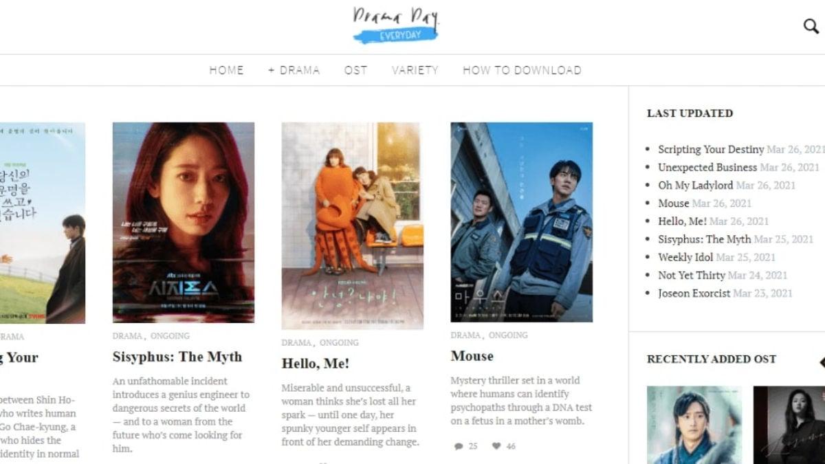 DramaDay - watch korean dramas online for free
