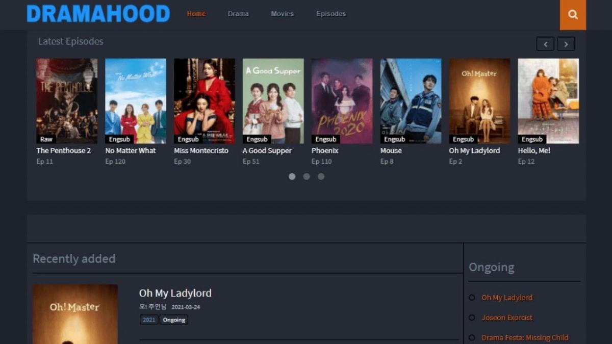 Dramahood - watch korean dramas online for free