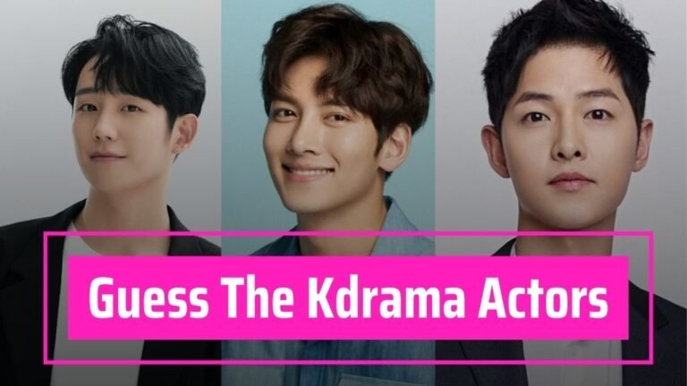 [Kdrama Quiz] Guess These Popular Kdrama Actors