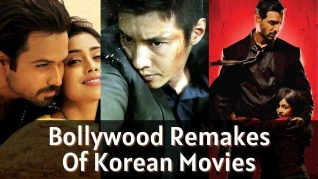 Bollywood remakes of korean movies
