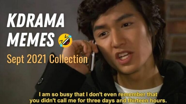 Funny Kdrama Memes Collection (September 2021)