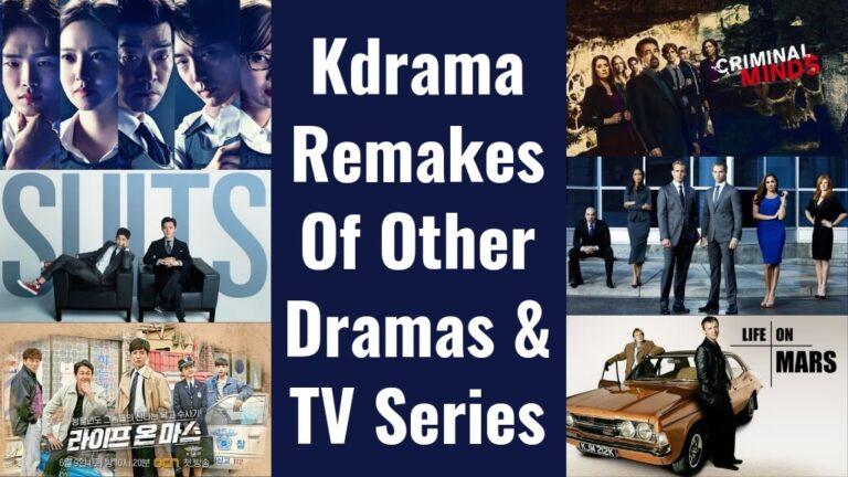 21 Korean Drama Remakes Of Other TV Series & Dramas