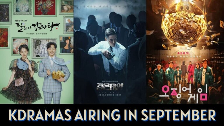 Ongoing Kdramas That Started Airing in September 2021