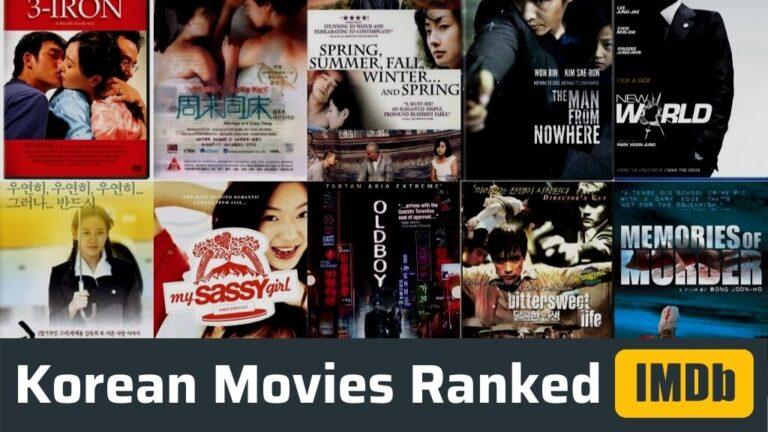 Top 50 Highest Rated Korean Movies On IMDb (Ranked)
