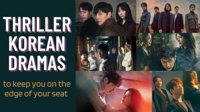 thriller korean dramas to watch