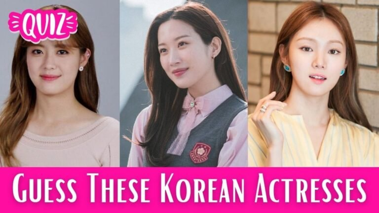 [Kdrama Quiz] Guess These Popular Kdrama Actresses