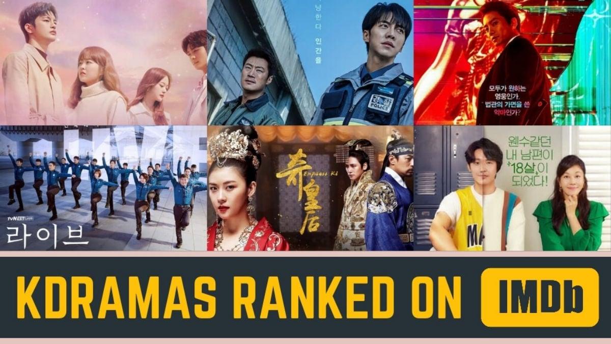 Kdramas ranked on imdb