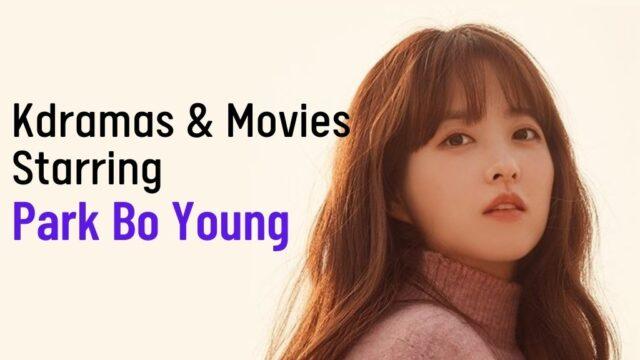 Park bo young dramas movies