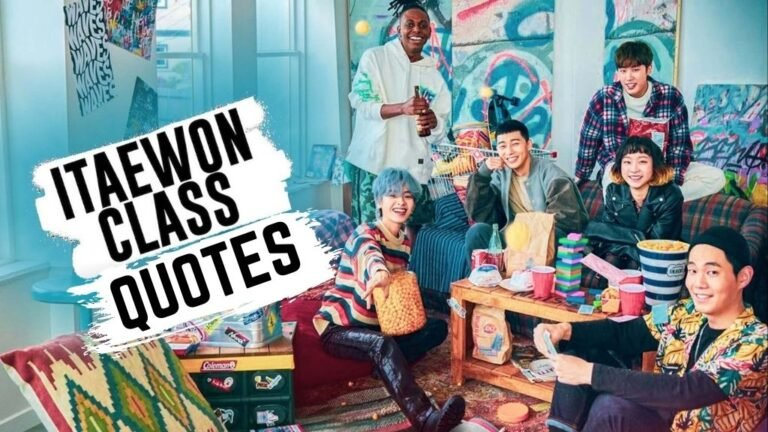 Itaewon Class Quotes | Best Quotes From Itaewon Class Drama