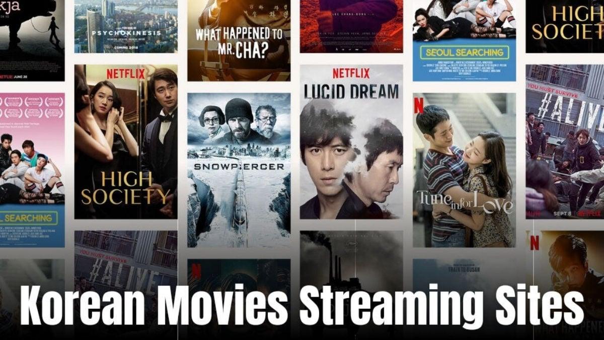 Korean movies streaming websites
